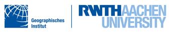 Logo RWTH Aachen - Geographisches Institut