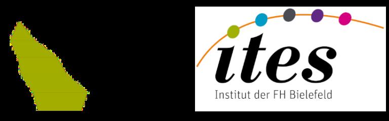 Logo FH Bielefeld und ITES