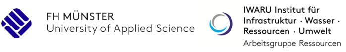 Logo FH Münster und IWARU Institut